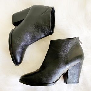Cole Haan Grand OS Leather Heeled Ankle Bootie 7.5